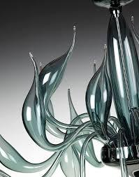 Blue Steel Lighting Design Blue Steel Chandelier Lu 20 For A Modern Interior Lighting