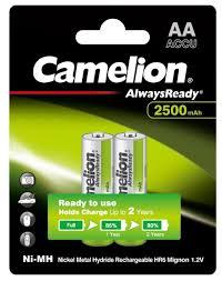 <b>Аккумулятор</b> Ni-Mh 2500 мА·ч <b>Camelion</b> Always Ready <b>AA</b> ...