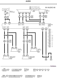 need an audio wiring diagram for a 2003 nissan xterra with