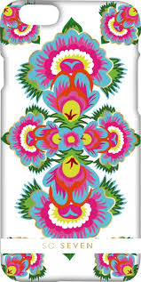 <b>Клип</b>-<b>кейс So Seven</b> Spirit принт Motif bleu для Apple iPhone 7
