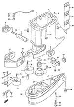 suzuki outboard parts dt 115 parts listings browns point Suzuki 115 Outboard Wiring Diagram suzuki dt 115 fig 44 drive shaft housing Suzuki DT50 Outboard Wiring Diagrams