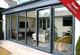 aluminium continental folding doors