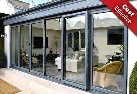 aluminium continental folding doors