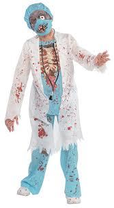 zombie surgeon doctor boys costume