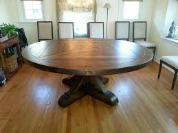 amish built reclaimed antique barn wood round pedestal table unfinished 72 r handmade country