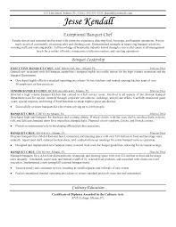 Sample Of Chef Resume – Micxikine.me