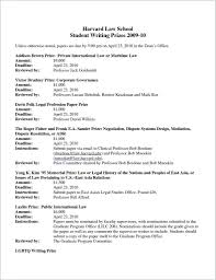 Cover Letter Sample Harvard Business New Resume Template Awesome