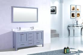 shaker transitional grey bathroom vanity with white double square sinks 60 inch countertop granite inch vanity 60 countertop