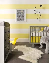 Awesome Yellow Baby Nurseries