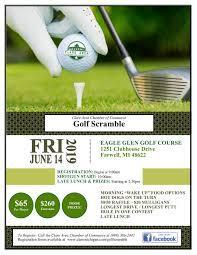 Golf Scramble Clare Area Chamber Of Commerce