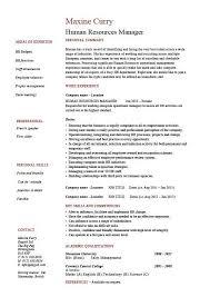 nanny job description resume