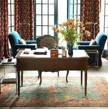 rug for office rugs in work spaces home library with oriental rug from home of clover
