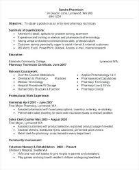 Beautiful Pharmacy Technician Resume Sample Resume Resume Template