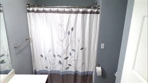 double curved shower rod installation how to install you for exquisite bowed shower curtain rods for