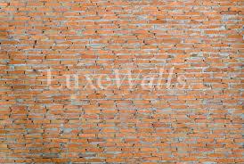 convict brick wallpaper luxe walls