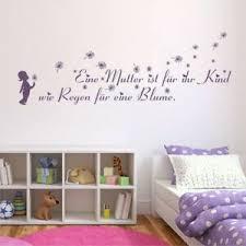 Eine Mutter Ist Kind Pusteblumen Wandtattoo Kinderzimmer Blumen