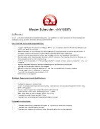 Production Planner Resume Samples Visualcv Database For Freshers