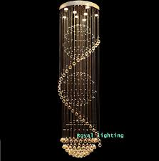 stylish long chandelier light awesome long hanging chandelier aliexpress stairway crystal