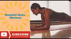 sonakshi sinha weight loss workout treadmill workout at gym yoga workout videos