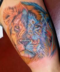 úžasný Význam Tetování Lva Hodnota Symbolismu Lva V Různých