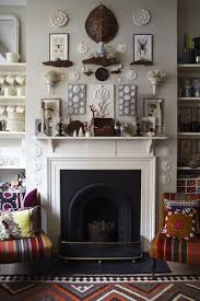 romantic design above fireplace decorating ideas