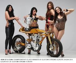 best custom motorcycles at 2011 custom chrome europe dealer show