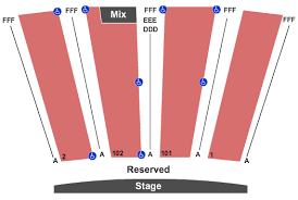 Colorado Concert Tickets Seating Chart Riverwalk Center