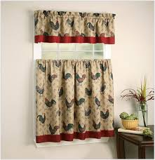 Jcpenney Curtains For Living Room Traditional Brown Red Jcpenney Kitchen Curtains Cute Cotton
