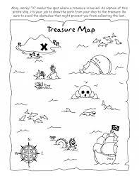 Small Picture Pirate Treasure Map Coloring Page Coloring Pages Amp Pictures Car