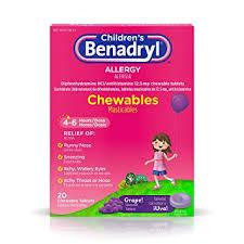 Amazon.com: Children's Benadryl Allergy Chewables with ...