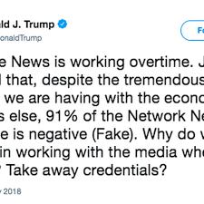 "News Finally Admits News"" Tweet Donald Means Trump ""fake Just wBq8a646"