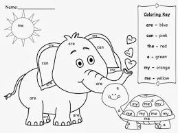 Small Picture Printable sight word coloring sheets hidden sight words coloring