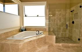 tip 1 hot water and sponge for regular cleaning of shower tile travertine tile shower