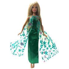 NK Một Bộ Búp Bê Công Chúa Elsa Phim Tương Tự Như Đầm Cổ Tích Áo Cưới Bầu  Đảng Bộ Trang Phục Cho Búp Bê Barbie Tốt Nhất nữ Sinh Tặng