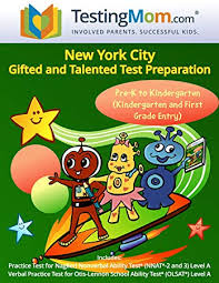nyc gifted and talented test preparation workbook for olsat and nnat2 level a pre