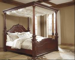 King Size Bedroom Sets Ashley Furniture Ashley Furniture King Canopy Bed Tagged With Wooden And Frames