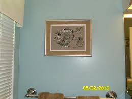 Bathroom Fish Decor Customer Appreciation Photo George Yes Hes A Pretty Fish