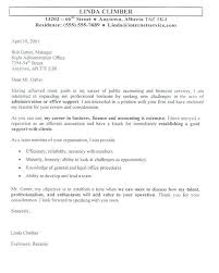 Examples Of Excellent Cover Letters A Sample Accounting Cover Letter