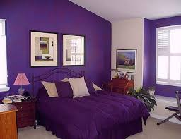luxury bedroom furniture purple elements. Luxury Bedroom With Purple Colored Interior Furniture Elements U