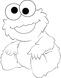 Coloring Pages Of Baby Elmo Coloring Pages Printable Outline Awesome