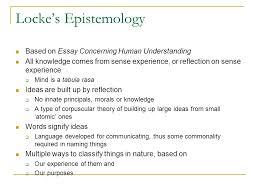 class john locke dr ann t orlando ppt  5 locke s epistemology