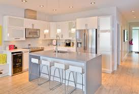 attractive white high gloss kitchen cabinets 17
