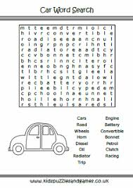 Word Cars Cars Word Search Kids Puzzles And Games
