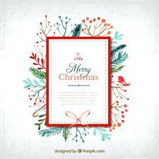 Free Holiday Greeting Card Templates Free Holiday Card Templates Watercolor Card In Cute Style Free