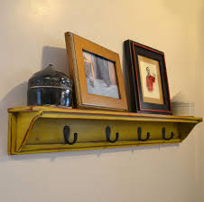 Handmade Coat Rack Painted Wood Diy Wall Coat Rack Rustic With Display Shelf Atop 100