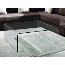 ... Abbott Square Glass Coffee Table