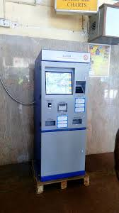 How To Use Ticket Vending Machine In Railway Station Awesome FileAutomatic Ticket Vending Machine Kollam Junction Railway