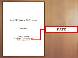 Mla Research Paper Title Page Magdalene Project Org