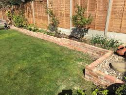 brick garden edging. garden brick border done edging