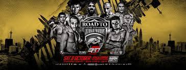 combat sport schedule grabaka hitman muay thai mma efn 8 road to abu dhabi warriors kuala lumpur